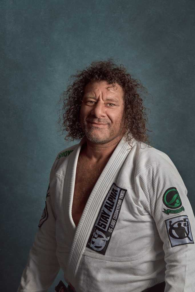 one light portrait of male sports star by Cowra photographer brent young
