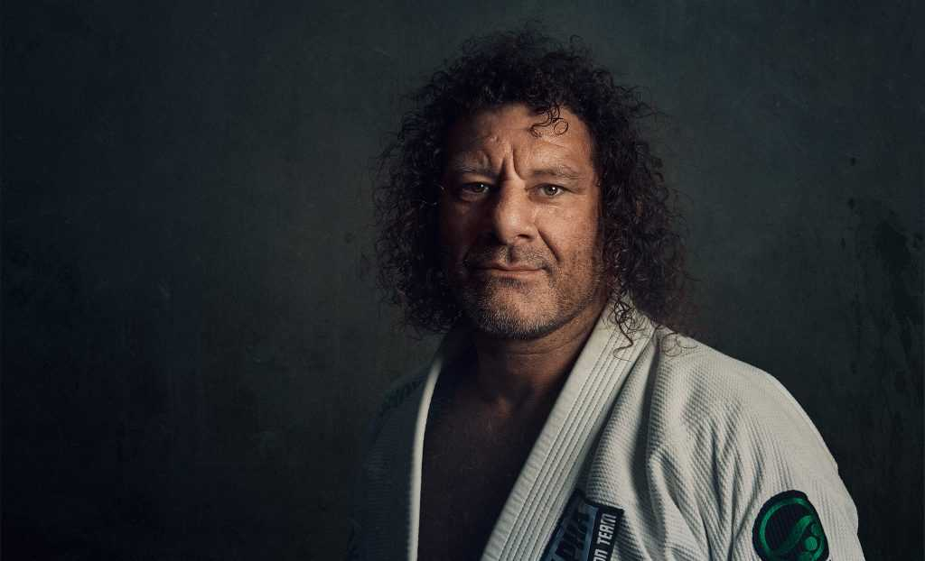 Single light portrait by Brent Young Photography of Kurt Osiander at Black Knight Jiujitsu in Cowra NSW