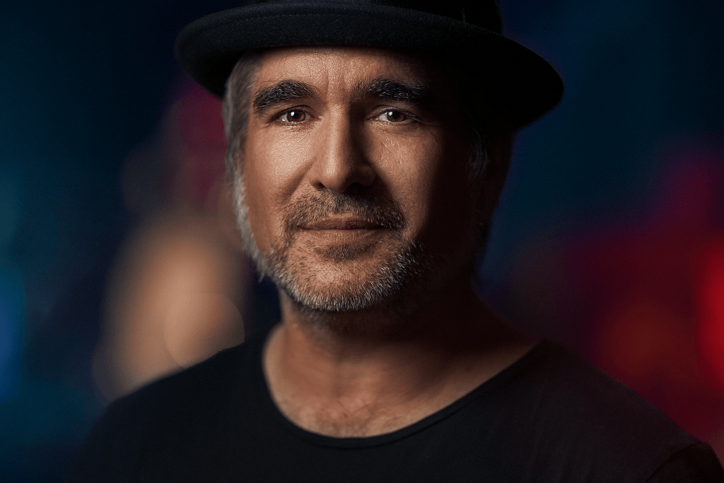 single light portrait of southern sons front man Jack Jones taken at Sydney Opera House by Cowra NSW photographer Brent Young