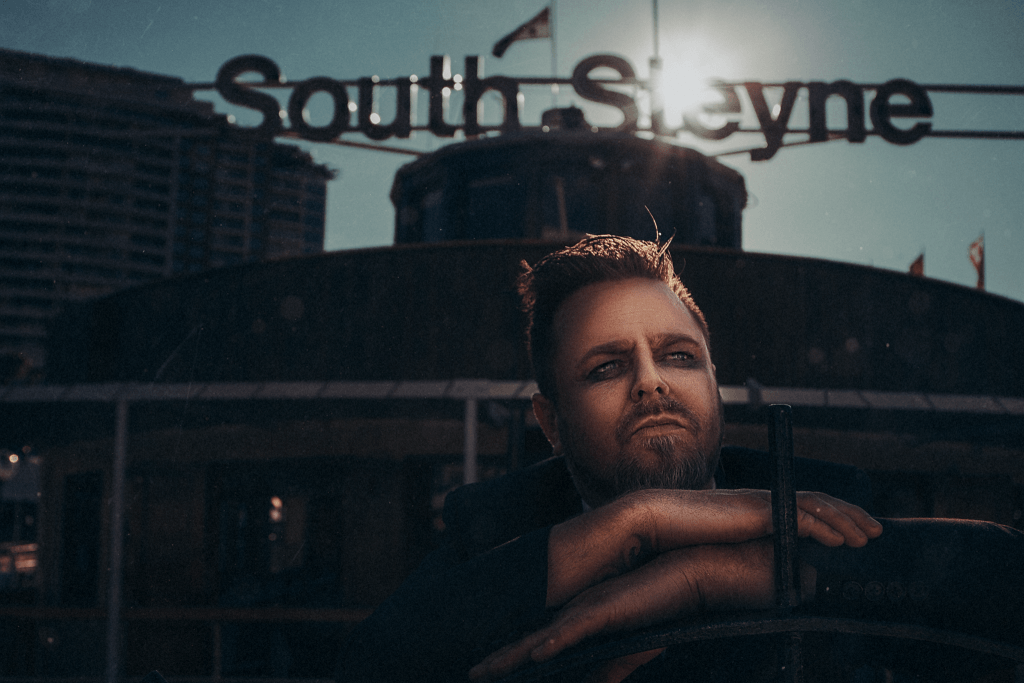 Son of John Paul Young, Danny Young on the South Steyne Sydney by Brent Young Photography
